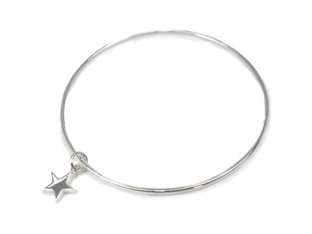 en rose bangles argento bangle star larger image view click to spiked gold com m